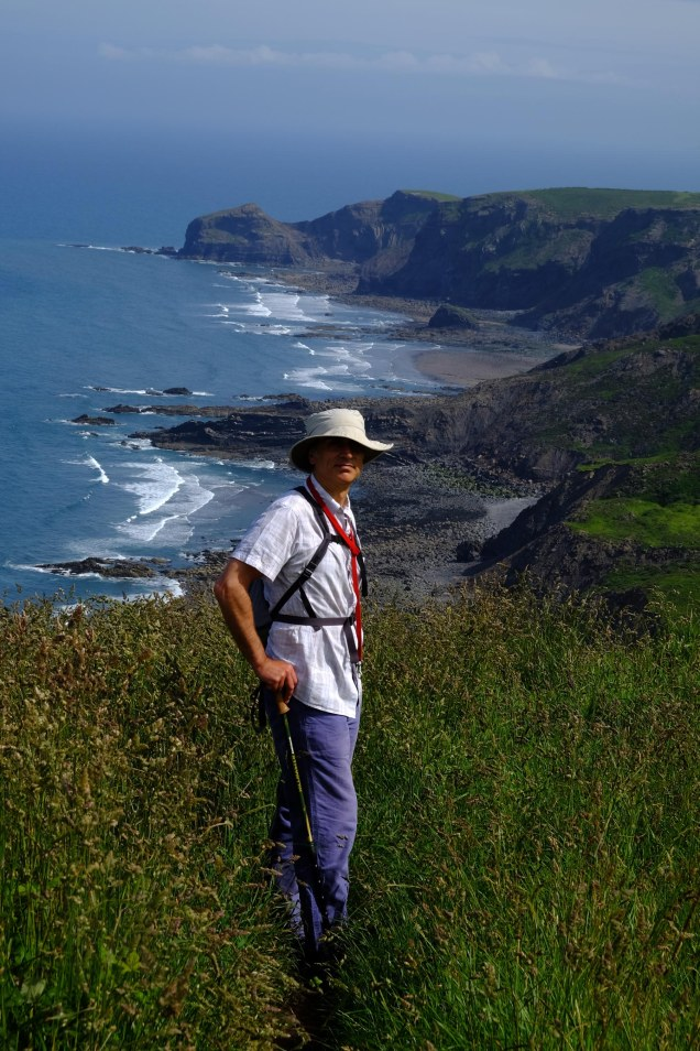 Barnaby Dickens on  South West Coast Path