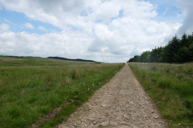 Sarn Helen, Roman Road