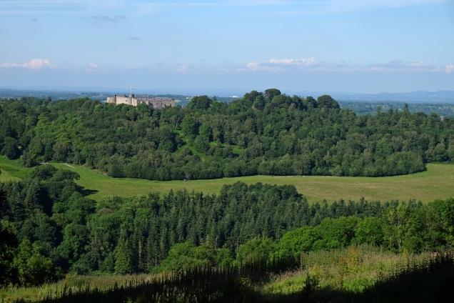 Chirk Castle, Offa's Dyke