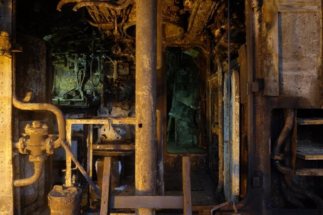 Interior of U 534